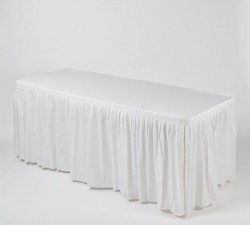 KWIK-COVERS- Skirts and Covers (WHITE ONLY) 6 ft and 8 ft