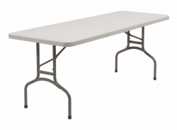 8' Poly table