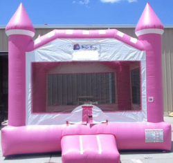 Pink Castle (pink/white)