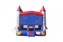 3D Rocket Bounce House