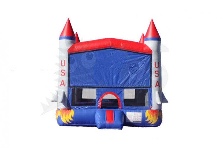 3D Rocket Bounce House