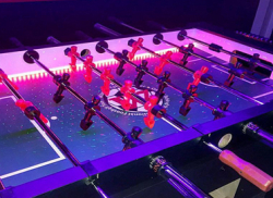 4 Player LED Foosball Table