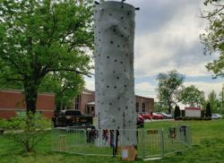24 FT Tall Rock Climbing Wall