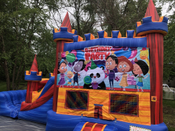 Birthday Party Deluxe Bounce House / Slide Combo