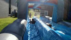 Dual Lane Paradise Slip n Slide w/pool T-C5-1705004