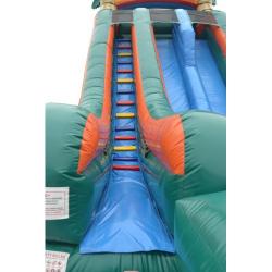 Screamer Palm Tree 2 Lane Paradise Giant Slide