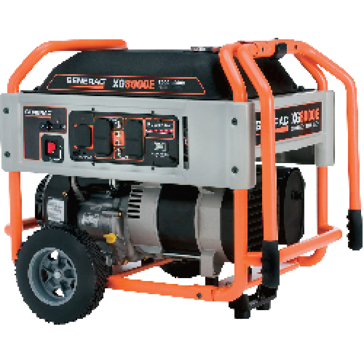 Generators come with gas for 3-4 hrs use