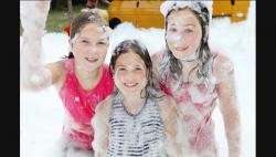 A SuperFun Foam Party