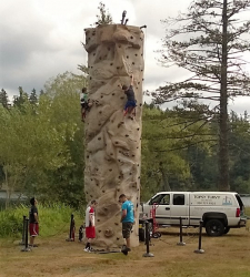 4 Lane Climbing Wall