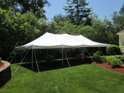 20 x 40 Party Tent Package (White)