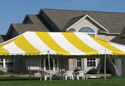 20 x 30 Tent (party) yellow and white