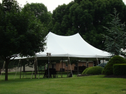 White 20x30 Party Tent