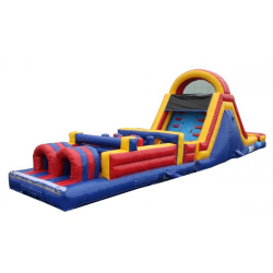 51'L Obstacle Course with Slide